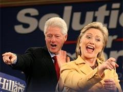 Bill and Hillary Clinton: (Photo: Daniella Zalcman)