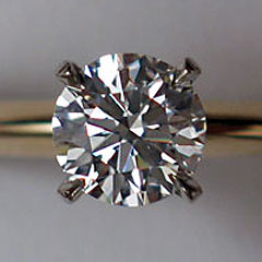 Shiny object formerly known as natural diamond