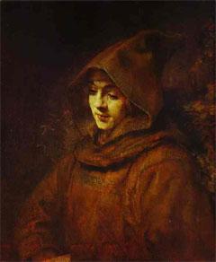 Titus in a Monk's Habit (artist's impression)